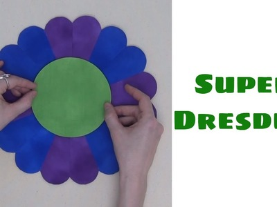 How to Make a Super Dresden Plate Quilt Block, Traditional Quilt Piecing and Applique with Leah Day