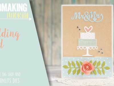 How To Make a Wedding Card or Invitation   Sizzix Big Shot