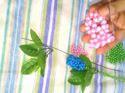 How to make beaded tulip||How to make flower||পুতি দিয়ে টিউলিপ তৈরি||Diy craft
