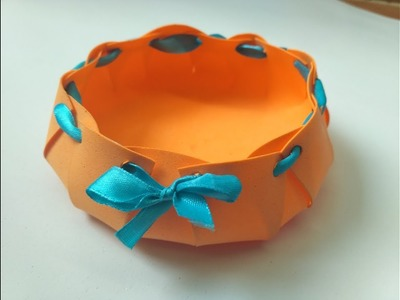 How to make bowl with foam paper