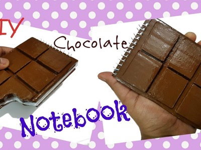 How to make Chocolate Notebook.DIY Back to school.How to Make Notebook.DIY Chocolate Notebook