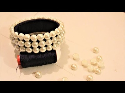 How To Make Designer Silk Thread Fancy Side Bangles.Easy and Simple bangles