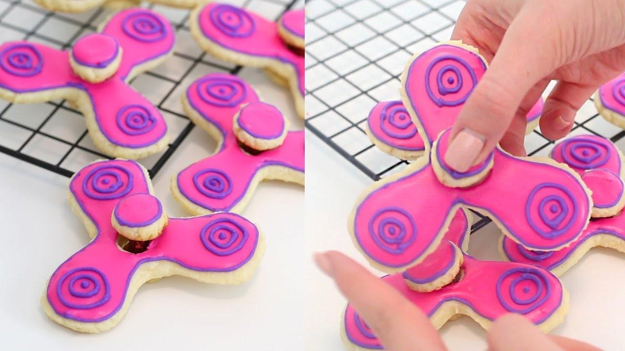 How to Make DIY Fidget Spinner Cookies THAT WORK!! | RECIPE