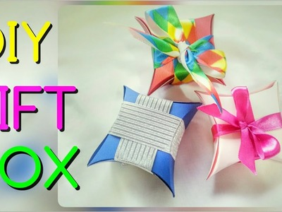 HOW TO MAKE EASY PAPER GIFT BOX  Paper Box From CD