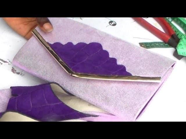How to make envelop purse