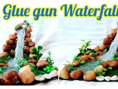 How to make Glue gun Waterfall
