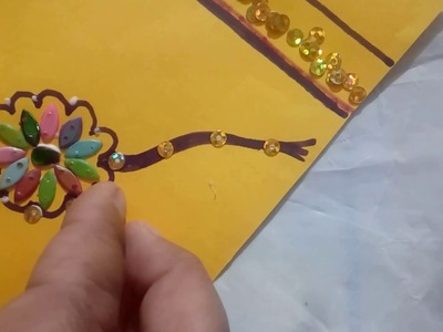 How to make greeting cards at home for raksha bandhan 2017,gifts for brother and sister