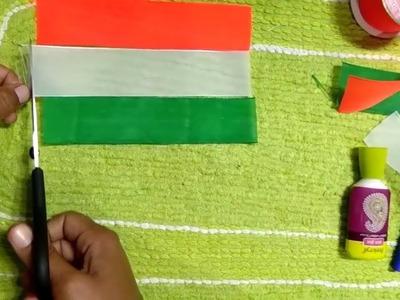 How To Make Indian Flag Handmade Tiranga Craft By Hand