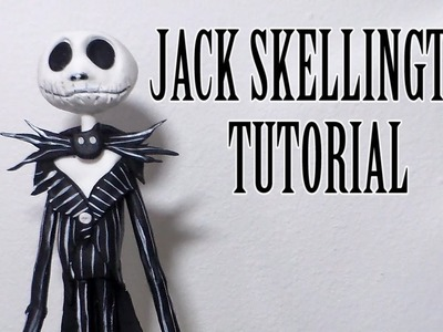 How to make Jack Skellington (Nigthmare Before Christmas) by Cup n Cakes Gourmet