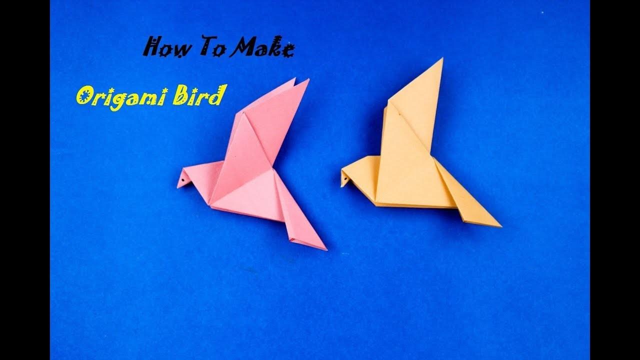 bird how to make origami birdpaper crane simple origami