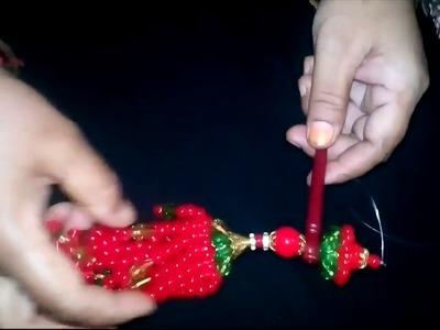 How to Make Putir Hair Pin. Hair Clip. Chuler kata