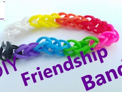 How To Make || Rubber Friendship Band At Home || CCA