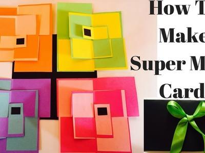 How to make Super Maze Card | Super Maze Card Tutorial | Super Maze Photo Card