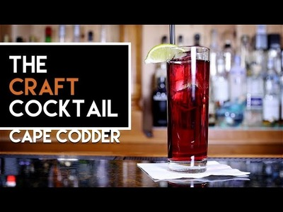 How To Make The Cape Codder | Bartending 101 ???? The Craft Cocktail