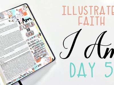 Illustrated Faith I Am Kit Day 5 | How To Cover Bleed Through