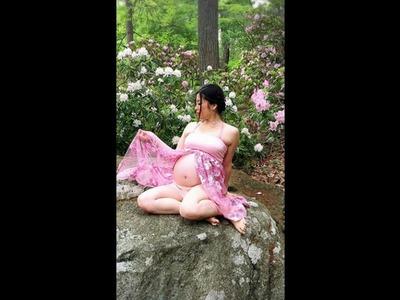 Kharyzma DIY: How to make a Maternity Dress for Photos Pt. 2