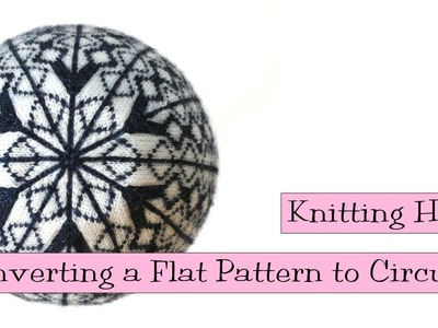 Knitting Help - Converting a Flat Pattern to Circular