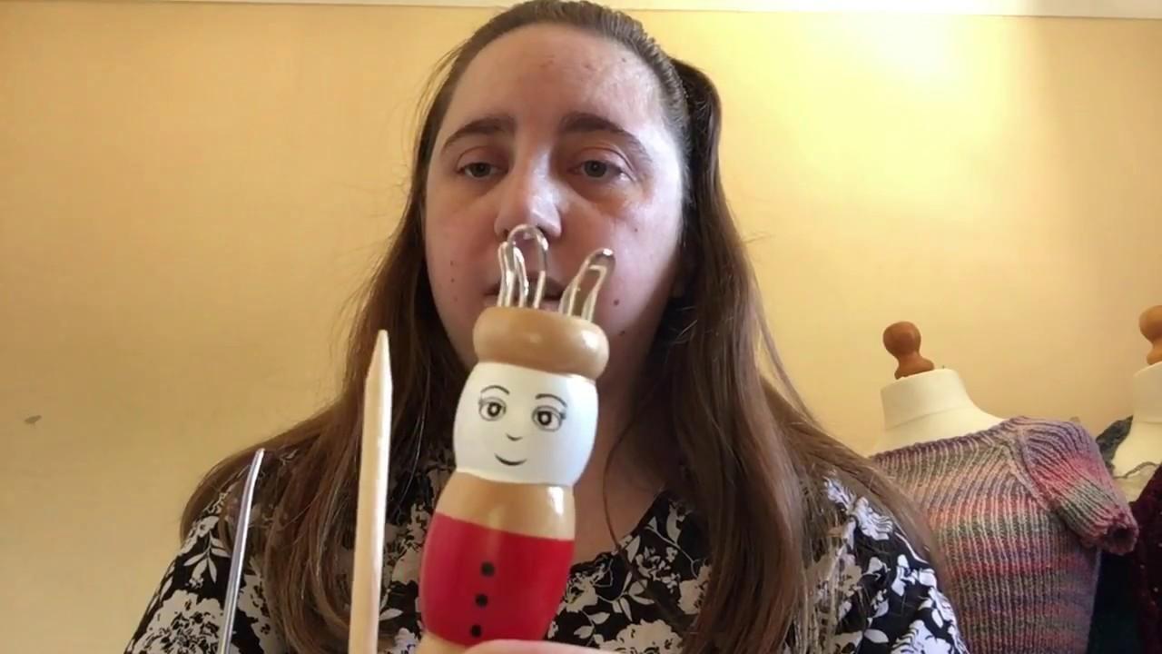 Knitting Nancy.French Knitting doll Review