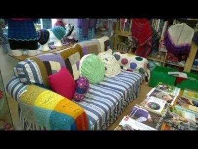Knitting with Nele; Episode 2, Yarn shopping in Scotland