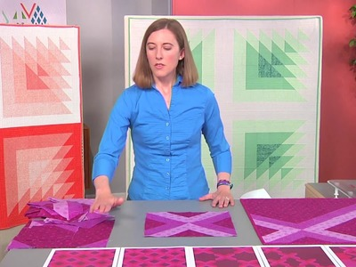 Learn how to use transparency as a design element on Fresh Quilting with Yvonne Fuchs (206-1)