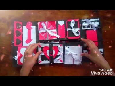 Love scrapbook for someone special ????