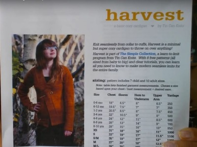 New Knitting Tutorial - Harvest Cardigan -Prep video