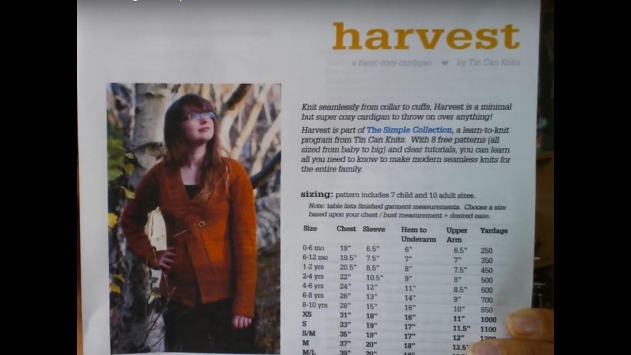 New Knitting Tutorial - Harvest Cardigan -Prep video