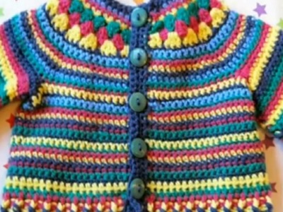 New sweater design for kids - knitting pattern