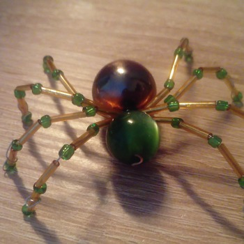 Ornamental be good spider