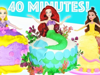 Princess Dress Cake 40 Minute Compilation   How To Make Dessert   Kids Cooking and Crafts