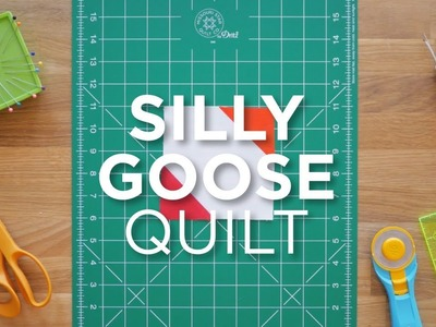 Quilt Snips Mini Tutorial - How to Make a Silly Goose Quilt Block