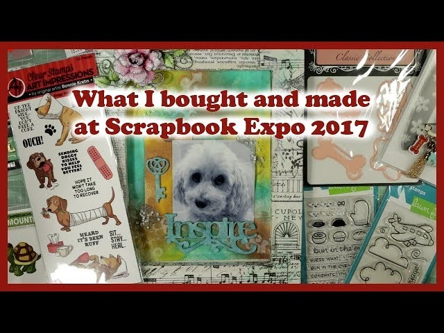 Scrapbook Expo 2017: Best Deals, Tips + What I Learned!