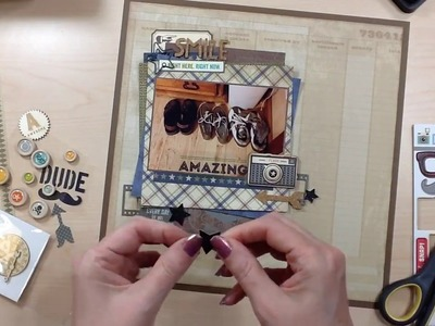 Scrapbook Process #183: EveryDay (Video a Day)