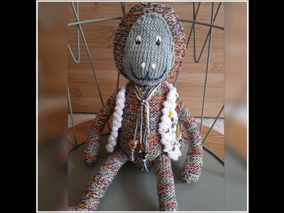 SINGE TRICOT.CROCHET BRICOTRICOT. MONKEY KNITTING.CROCHET