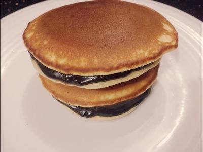 ডোরাকেক.প্যানকেক||Pancake||Doraemon Dora cake||Pan Cake Recipe Bangla || How To Make Pan Cake