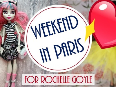 Weekend in Paris - Monster High Doll Repaint. How to Customize BJD. Dolls DIY Craft Tutorial Easy
