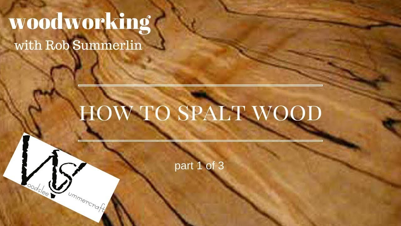 Woodworking # 77 how to spalt wood 2, part 1 of 3