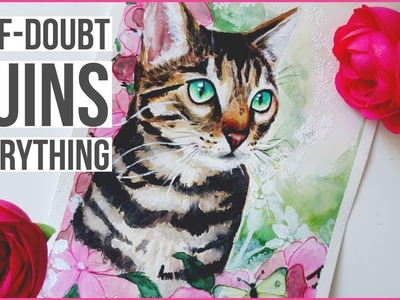 Bengal Cat Mixed Media. How to Ignore Self-Doubt