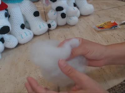Crochet Dalmation Amigurumi Firehouse Dog Part 1 DIY Tutorial