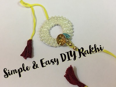 Day 2: How to make Rakhi at home  (from waste material) tutorial | DIY Crafts@TWC