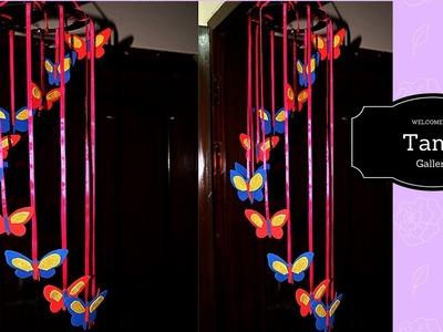 DIY  Butterflies Wall Room Decor | Easy Paper Butterfly Origami | Room decoration with butterfly