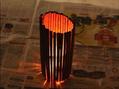 DIY | How to make paper lantern from newspaper