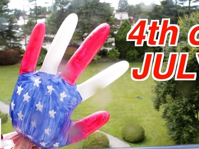 Easy Crafts Ideas for 4th of July: How to Make Friendly Hand