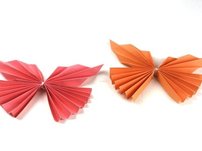 Easy Paper Butterfly Origami | Cute & Easy Butterfly | | How to make a paper butterfly |