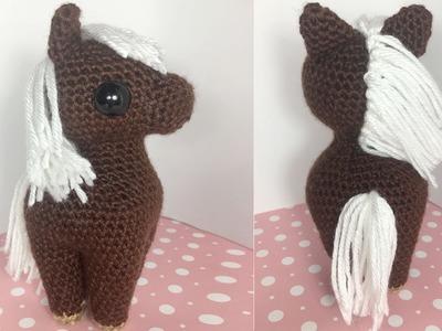 Horse Amigurumi Crochet Tutorial Part 1