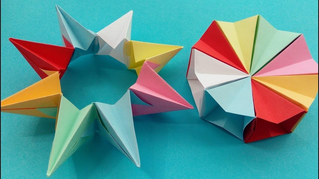 How Can I Make A Magical Origami Wheel