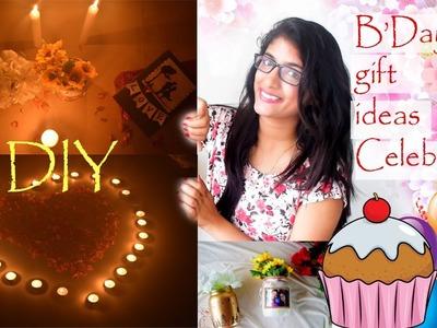 How i celebrated my husband's birthday |DIY gift ideas