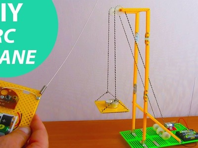 How to Assemble an RC Electric Elevator. Crane. HomeCraft