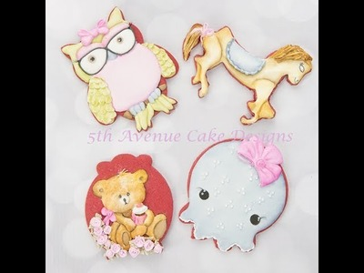 How to Decorate Delightful Animal Cookies ????????????????