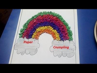 How to do paper crumpling
